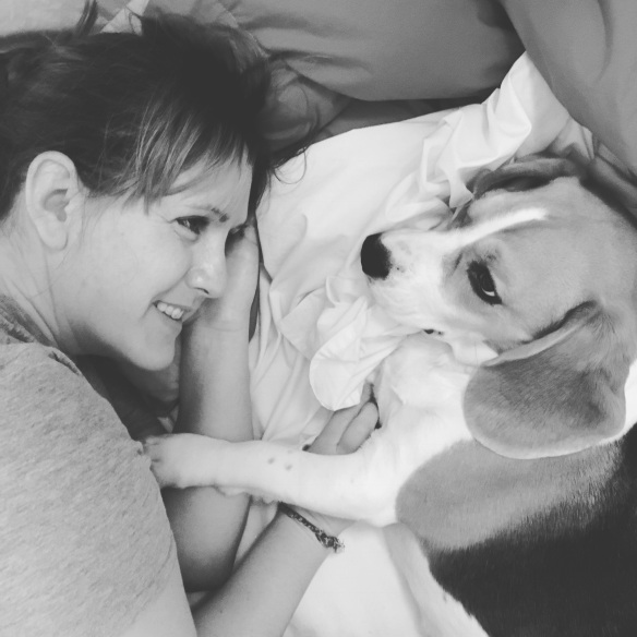 Geri and the pup